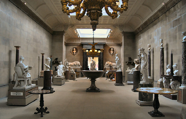 Sculpture gallery chatsworth house luckily the hordes for House photo gallery