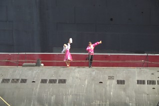 Dancers on Soviet submarine | by chris league