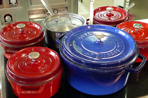 Staub casseroles | by David Lebovitz