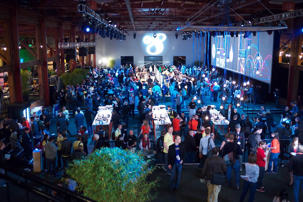 2015 F8 developer conference, demonstrating Facebook's domination in the social network arena