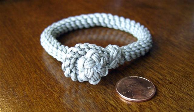 Star Knot And Loop Sailor S Bracelet From A Previously