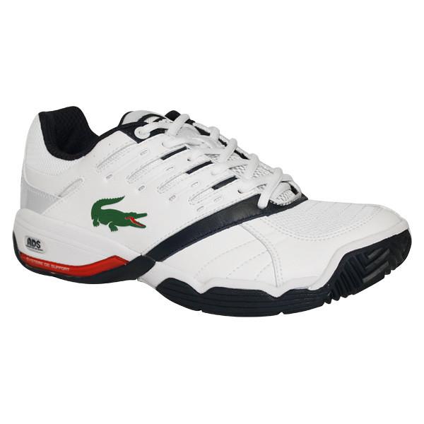 Lacoste Gravitate Men S Tennis Shoes White Navy Click Laco Flickr