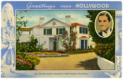 Tyrone Power post card_ft_tatteredandlost | by T and L basement