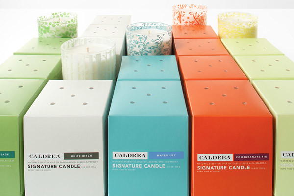 Caldrea Patterns on Candle Boxes | Eighthourday | Flickr