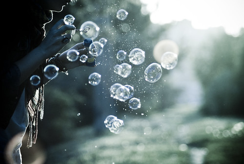 The play with bubbles at sunset #3 #148/365 | by A. Aleksandravičius