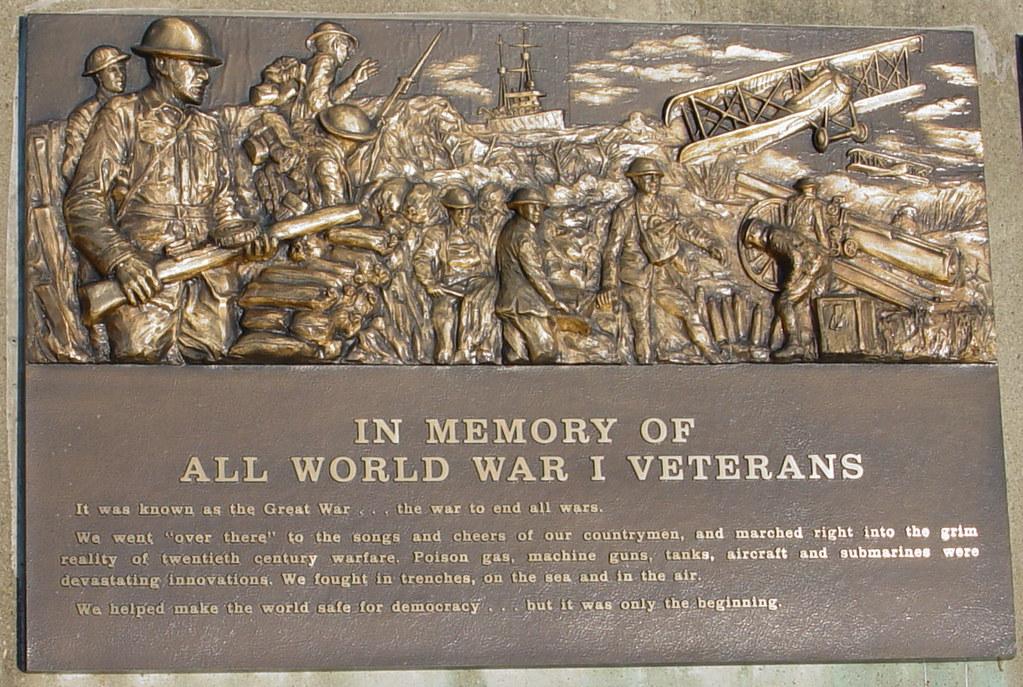 Veteran S War Memorial Wwi Veteran S Memorial In Front