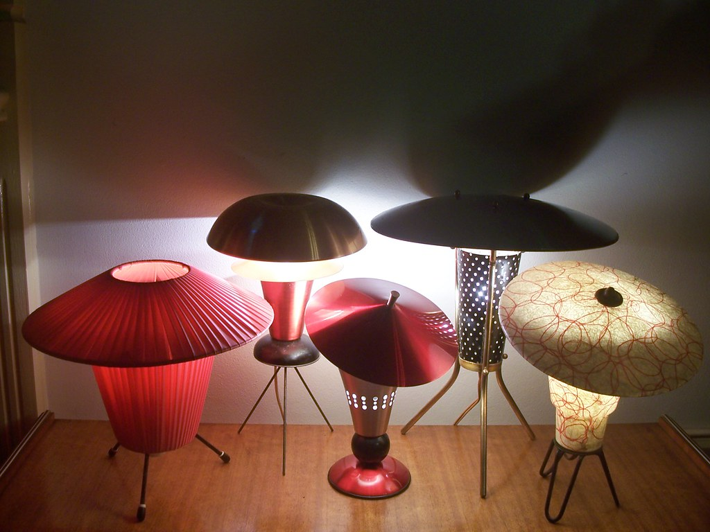 ... 50u0027s UFO TV Lamps | By Black Afro