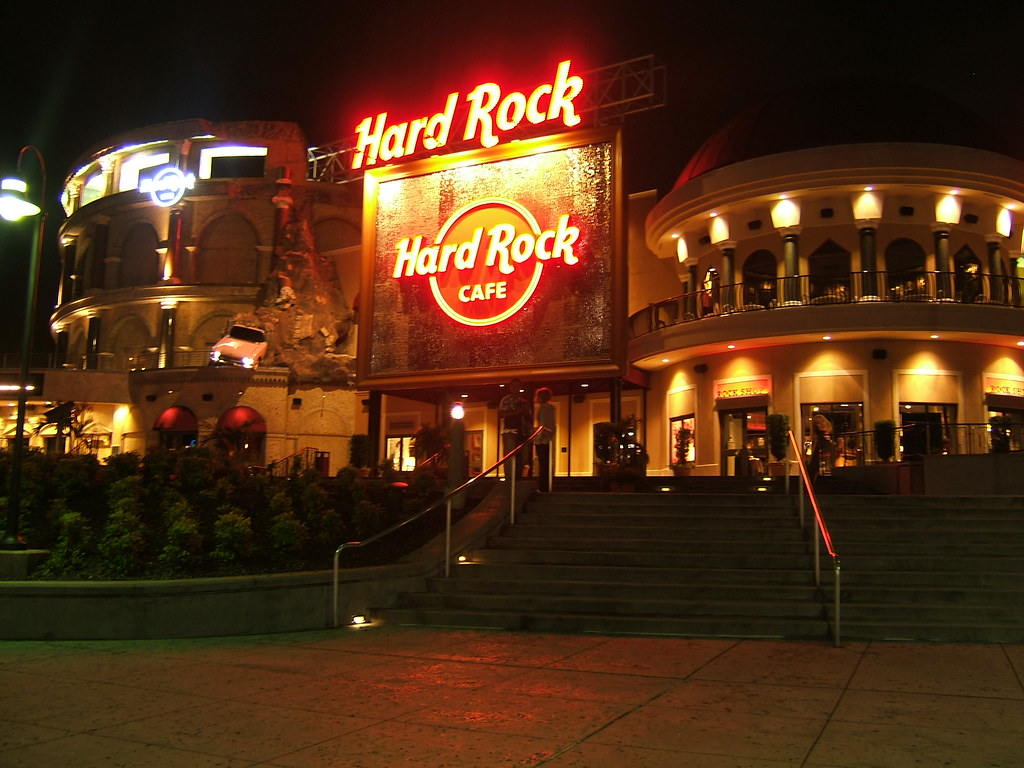 Hard Rock Cafe Food Prices