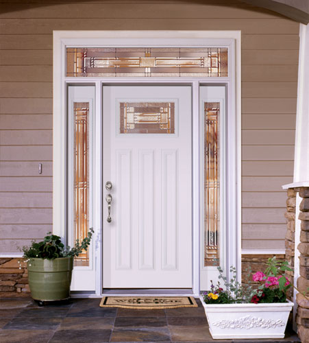 Feather River Door Fiberglass Entry Doors Smooth White D