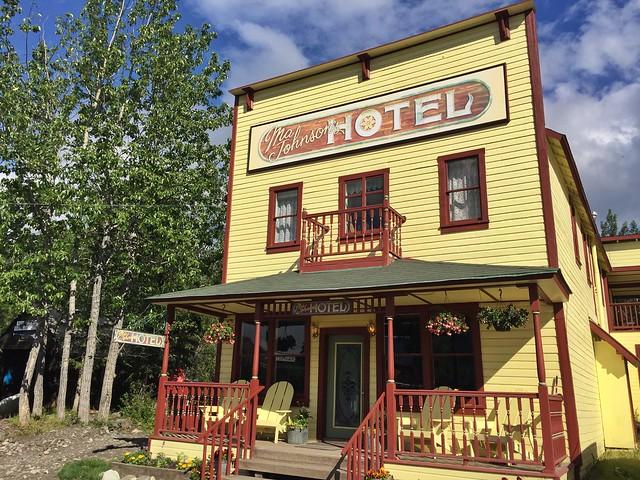 Ma Johnson Hotel en McCarthy (Alaska)