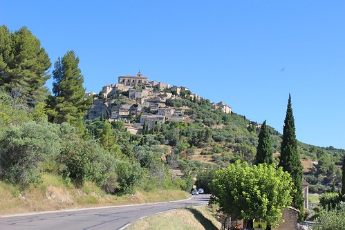 Gordes from the road | by sandrakaybee