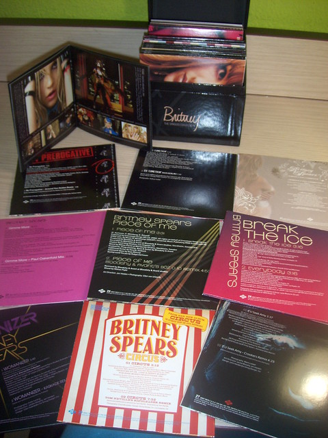 BRITNEY SPEARS The Singles Collection (2009 UK Ultimate ...