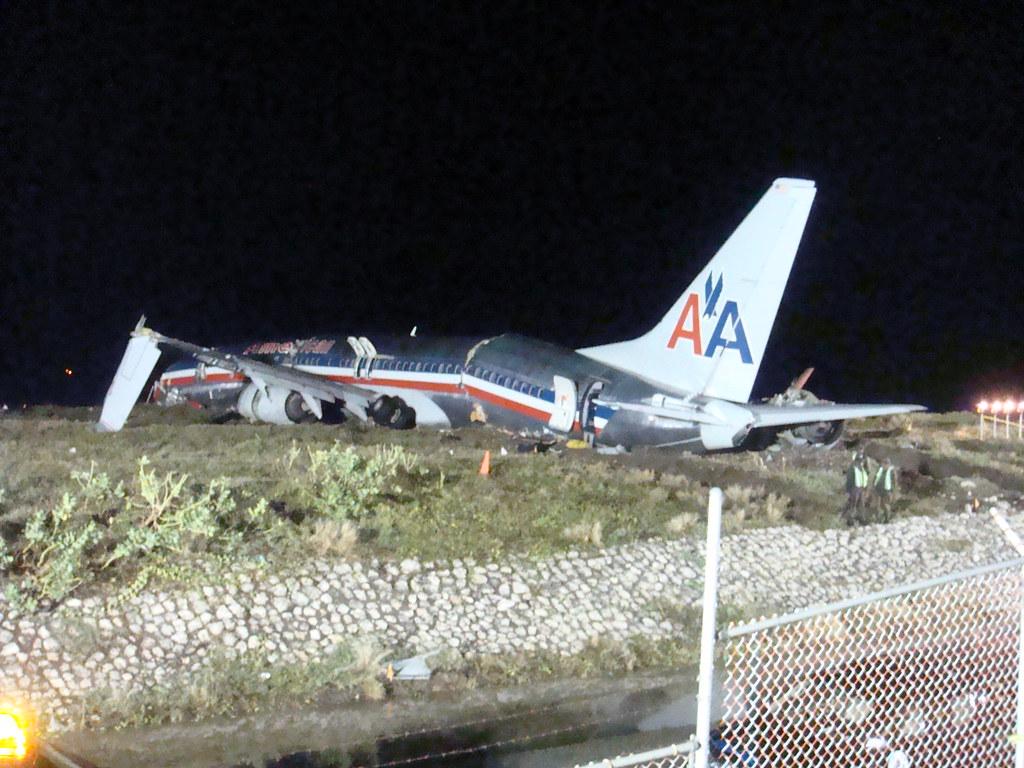 american airlines aa331 plane crash in jamaica 22nd decem