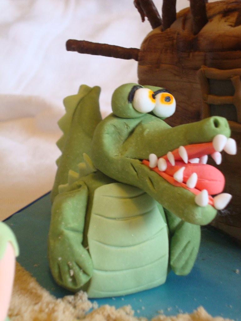 Peter Pan Themed Cake