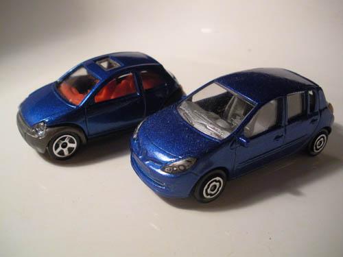 Ford Ka And Renault Clio Majorette Sam Flickr