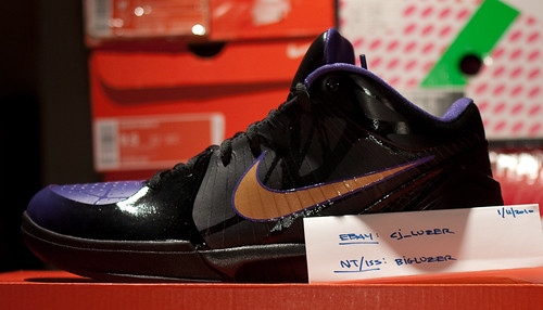 Kobe Zoom Iv Shoes For Sale Size