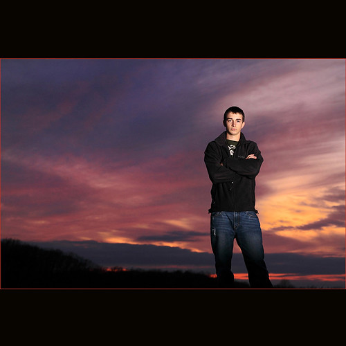 Senior Picture ~ Sean Crazy Sky | by ~Phamster~