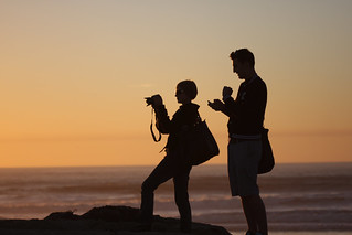 The photographer and her assistant | by San Diego Shooter