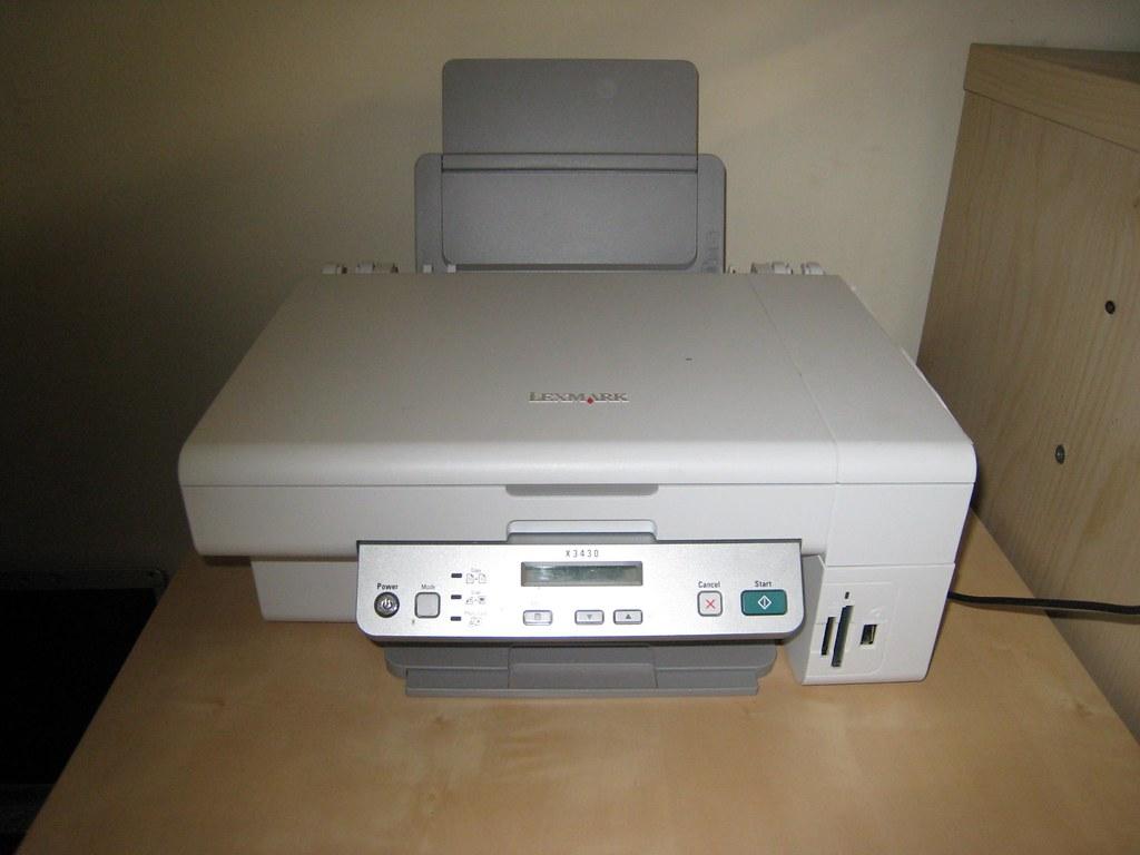 Lexmark X3430 Printer Driver for Windows 7