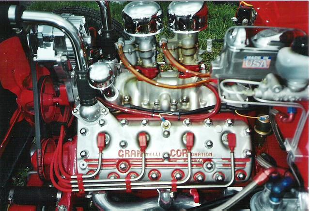 E Z on Ford Flathead V8 Engine