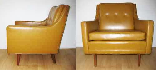 Superbe ... Justalittlebitnet Mid Century Modern Yellow Club Chair | By  Justalittlebitnet