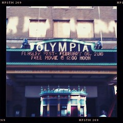 Olympia and a free movie | by Jaime Ferreyros - iphoneographer
