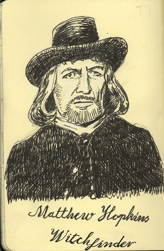 Matthew Hopkins Witchfinder General A Quick Drawing Of