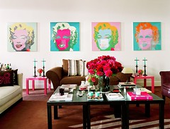 Warhol Living Room | by Jessie {Creating Happy}