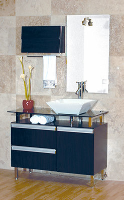 Lexington right bathroom vanity set for further informatio flickr for Priele italian design bathrooms