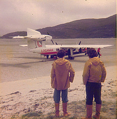 Barra Airport, mid 1970s | by Neil F King