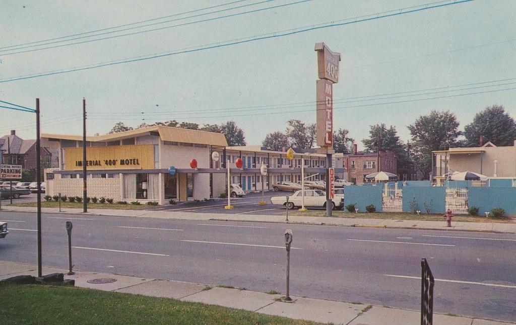 Imperial 400 Motel Akron Ohio 210 W Market Street