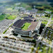 Tilt shift effect - stadium