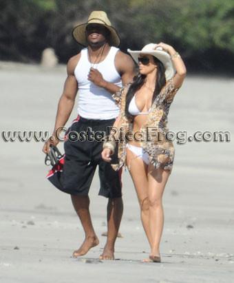 Kim Kardashian Reggie Bush Beach reggie bush and kim kardashian ...