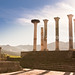 Roman Temple in Volubilis - Morocco
