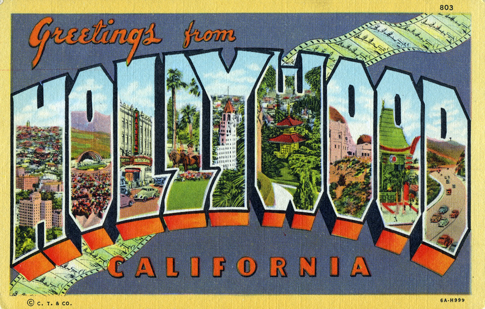 Greetings from hollywood california large letter postca flickr greetings from hollywood california large letter postcard by shook photos m4hsunfo