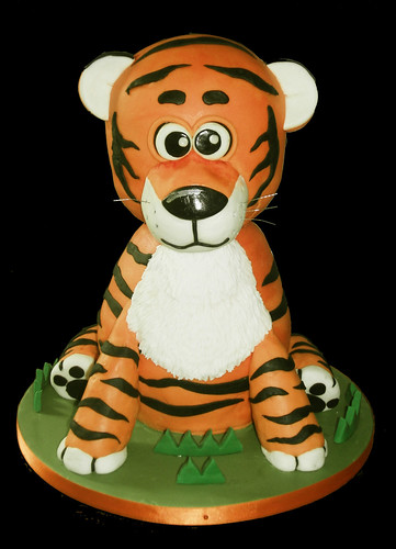 Tiger Cake | by Caking it...