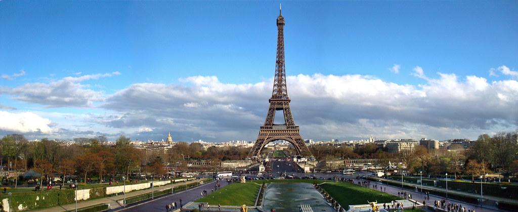 Panorama De La Tour Eiffel Paris Thomas Zasso Flickr