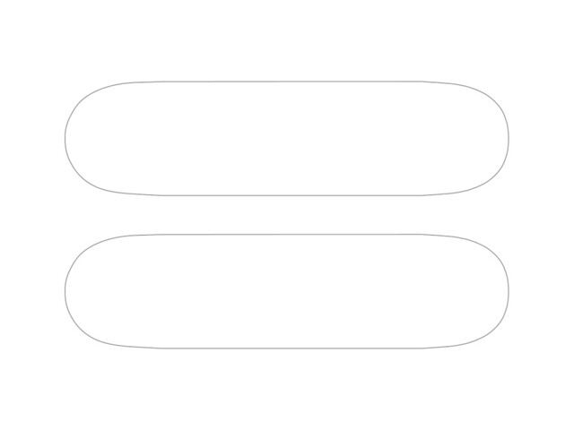 Skateboard Template | A skateboard Template to use with ...