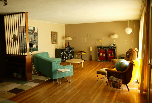 50s Living Room Jonnie Andersen Flickr