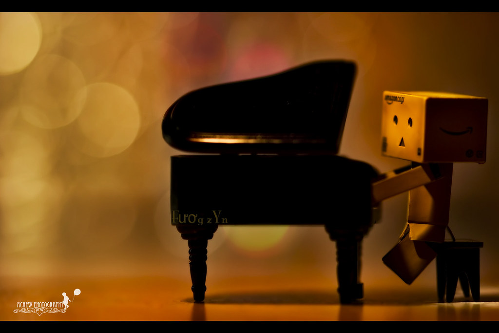 Musically Talented | After knowing Fươg zYn,Danbo was sooooo… | Flickr