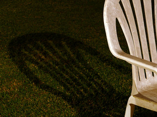 Dirty Chair and Shadow | by Baldy McSpecs