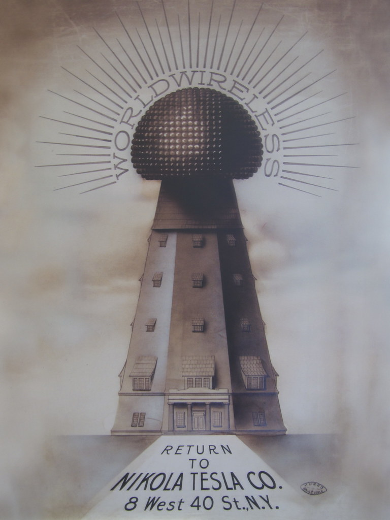 Tesla Wardenclyffe Tower Imagery Esa Ruoho Flickr