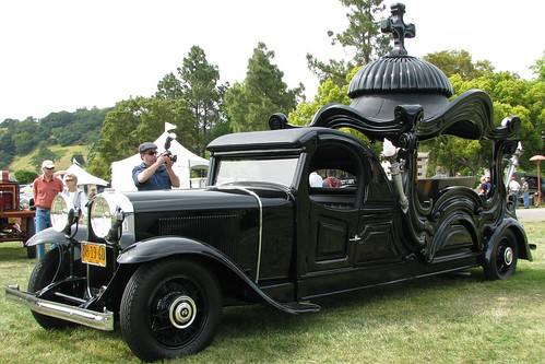 1929 Buick Hearse From Argentina 1 Photographed At The
