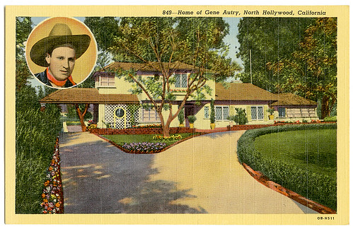 Gene Autry post card_ft_tatteredandlost | by T and L basement