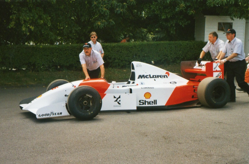 Festival Of Speed >> 1993 McLaren Ford MP4/8 | Goodwood Festival of Speed 2003 ...