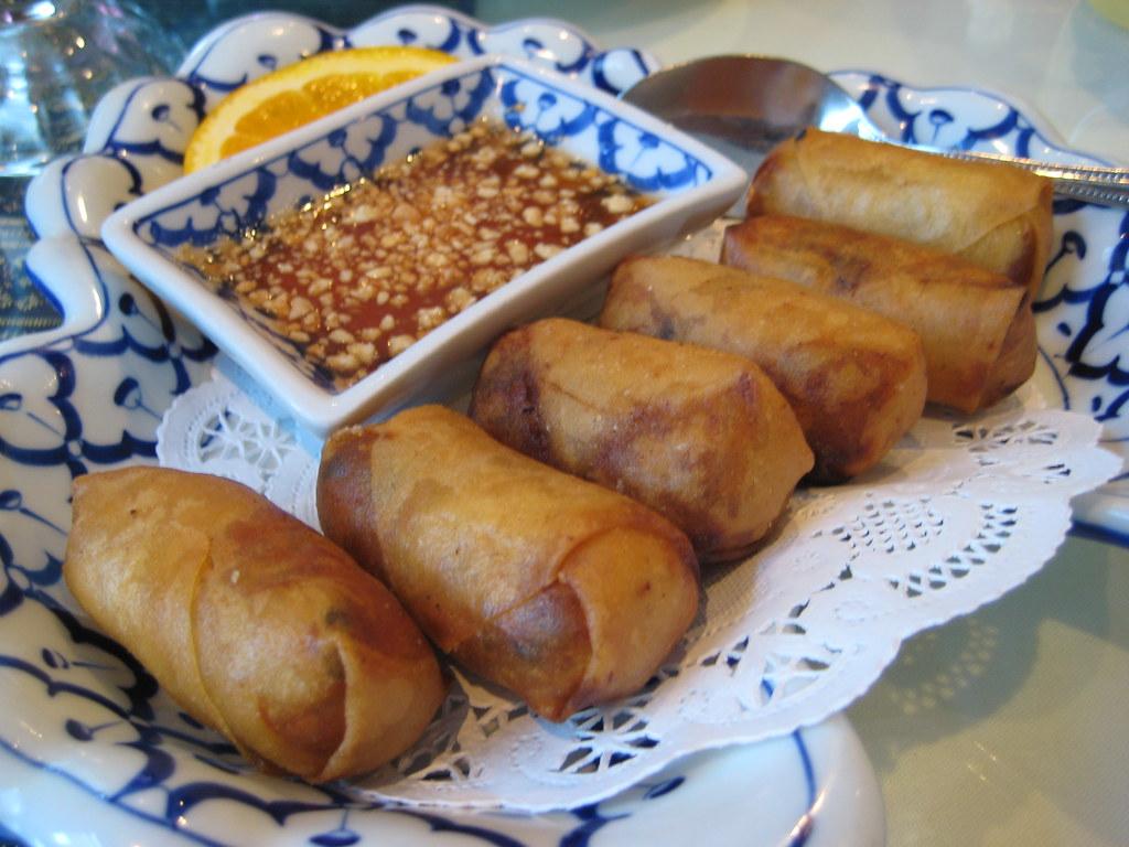 Thai A Kitchen Menu