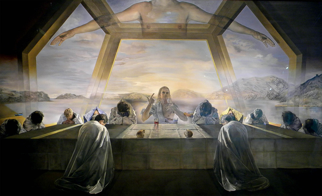 The Sacrament Of The Last Supper 1955 Salvador Dal 237