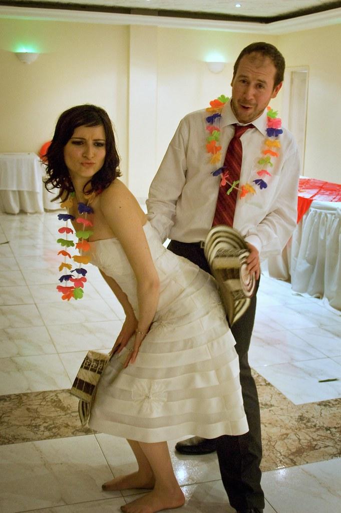 Spank the bride