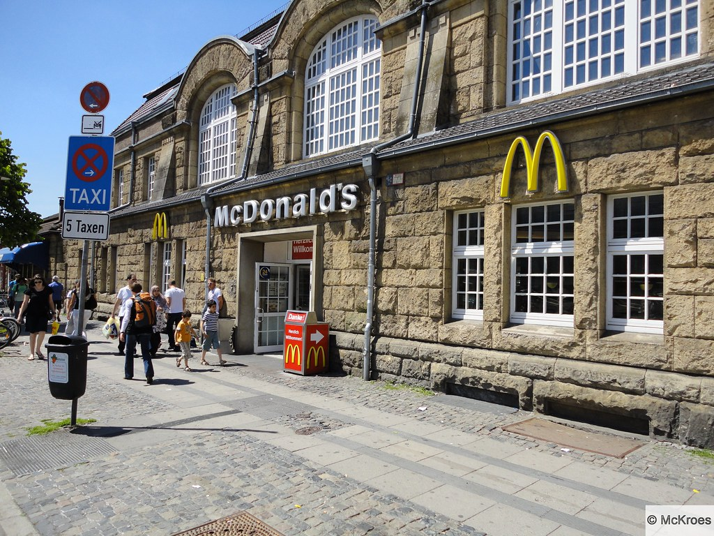 mcdonald 39 s bielefeld am bahnhof 1d hauptbahnhof bielefeld flickr. Black Bedroom Furniture Sets. Home Design Ideas