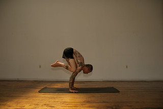 bakasana or crane pose  1 key to crane pose  tuck the